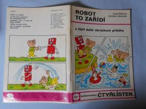 náhled knihy - Čtyřlístek : Robot to zařídí č. 73.