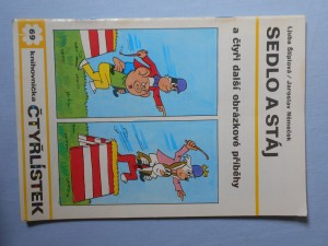 náhled knihy - Čtyřlístek : Sedlo a stáj č. 69.