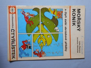 náhled knihy - Čtyřlístek : Mořský koník č. 52.