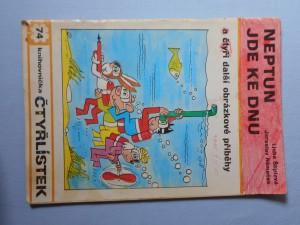 náhled knihy - Čtyřlístek : Neptun jde ke dnu č. 74.