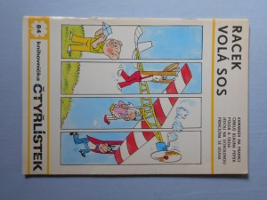 náhled knihy - Čtyřlístek : Racek volá sos č. 84.