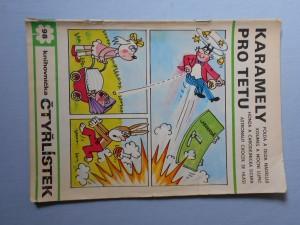 náhled knihy - Čtyřlístek : Karamely pro tetu č. 98.