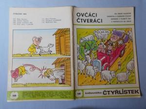 náhled knihy - Čtyřlístek : Ovčáci čtveráci č. 108