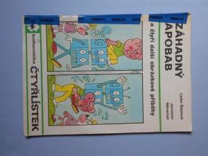 náhled knihy - Čtyřlístek : Záhadný Apobab č. 40.