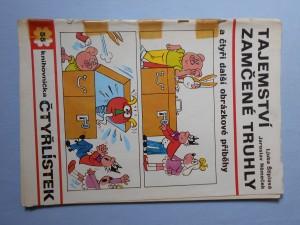 náhled knihy - Čtyřlístek : Tajemství zamčené truhly č. 55.