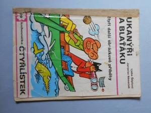 náhled knihy - Čtyřlístek : Bukanýři na blaťáku č. 29.