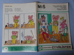 náhled knihy - Čtyřlístek : Miš č. 138.