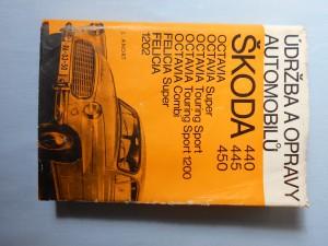 náhled knihy - Údržba a opravy automobilů Škoda : 440, 445, 450, Octavia, Octavia Super, Octavia Touring Sport, Octavia Touring Sport 1200, Octavia Combi, Felicia, Felicia Super, 1202