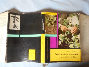náhled knihy - Zakořeňování a štěpování ovocných rostlin