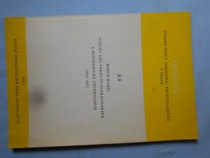 náhled knihy - Dvacet let fakulty potravinářské a biochemické technologie 1952 - 1972