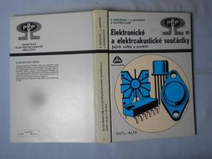 náhled knihy - Elektronické a elektroakustické součástky : jejich volba a použití