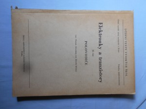 náhled knihy - Elektronky a tranzistory. 3. část, Polovodiče