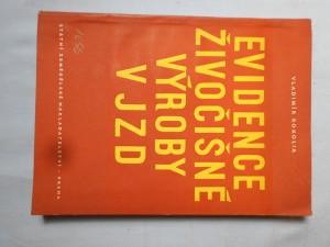 náhled knihy - Evidence živočišné výroby v JZD