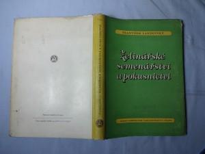 náhled knihy - Zelinářské semenářství a pokusnictví