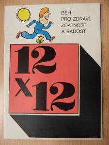 náhled knihy - 12x12 : Běh pro zdraví, zdatnost a radost