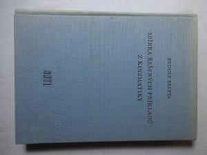 náhled knihy - Sbírka řešených příkladů z kinematiky : Pomocná kniha pro vys. školy