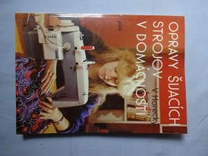 náhled knihy - Opravy šijacích strojov v domácnosti