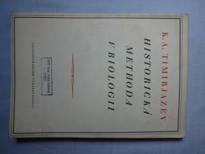 náhled knihy - Historická methoda v biologii
