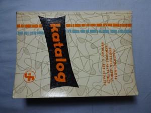 náhled knihy - Katalog - plastické hmoty, syntetická lepidla, technické pryskyřice, brousicí a lešticí pasty
