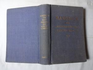 náhled knihy - Handbuch für hochfrequenz-und elektro-techniker I. Band