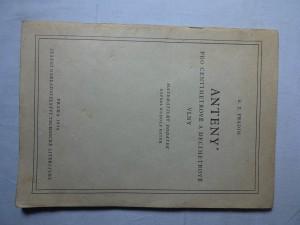 náhled knihy - Anteny pro centimetrové a decimetrové vlny