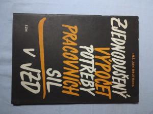 náhled knihy - Zjednodušený výpočet potřeby pracovních sil v JZD