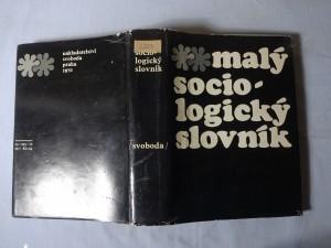 náhled knihy - Malý sociologický slovník