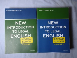 náhled knihy - New introduction to legal English : revised edition I., II.