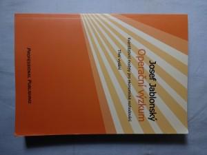 náhled knihy - Operační výzkum : kvantitativní modely pro ekonomické rozhodování