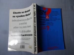 náhled knihy - Testy studijních předpokladů a základy logiky 2. díl