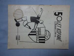 náhled knihy - 50 let kopané v Podolí u Brna 1930 - 1980