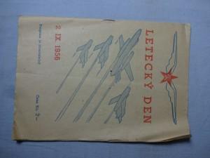 náhled knihy - Letecký den 2. IX. 1956