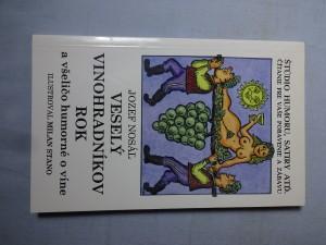 náhled knihy - Veselý vinohradníkov rok a všeličo humorné o víne