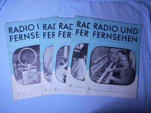 náhled knihy - Radio und fernsehen : Zeitschrift f radio, fernsehen, elektroakustik und elektronik, 4. jahrgang, č. 1, 2, 3, 4, 6
