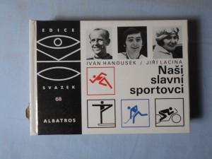 náhled knihy - Naši slavní sportovci : pro čtenáře od 9 let