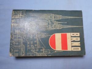 náhled knihy - Brno : Průvodce a orientační plán města v měřítku 1 : 15 000