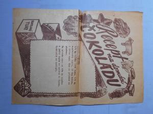 náhled knihy - Recept na domácí čokoládu A4