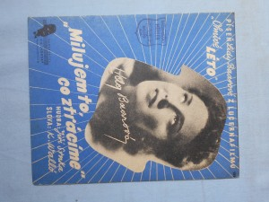 náhled knihy - Milujem to, co ztrácíme : Píseň Lídy Baarové z Lucernafilmu Ohnivé léto