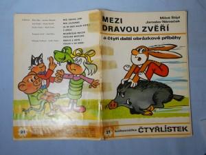 náhled knihy - Čtyřlístek : Mezi dravou zvěří č. 21.