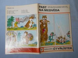 náhled knihy - Čtyřlístek : Past na medvěda č. 97.