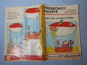 náhled knihy - Čtyřlístek : Trosečníci pouště č. 71.