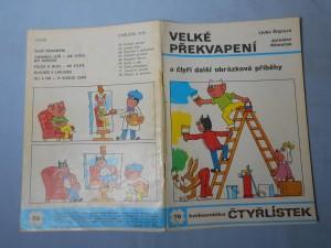 náhled knihy - Čtyřlístek : Velké překvapení č. 70.
