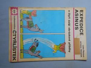 náhled knihy - Čtyřlístek : Expedice asinus č. 68.