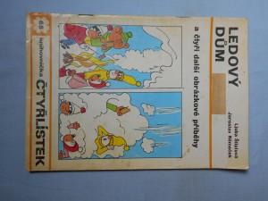 náhled knihy - Čtyřlístek : Ledový dům č. 65.