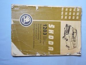 náhled knihy - Škoda 1203 van, minibus, ambulance : Seznam náhradních dílů, ersatzteile-katalog, list of spare parts, catalogue des piéces détachées
