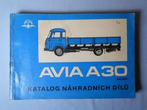 náhled knihy - Avia A-30 valník : Katalog náhradních dílů