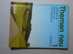náhled knihy - Themen neu : Leherwerk für Deutsch als Fremdsprache,  Kursbuch 1