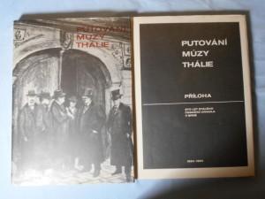 náhled knihy - Putování múzy Thálie : 100 let stálého českého divadla v Brně : 1884-1984