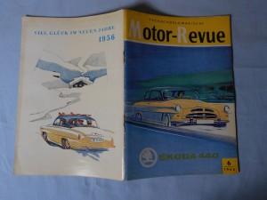 náhled knihy - Motor-Revue Tschechoslowakische 30.XII. 1955, Škoda 440