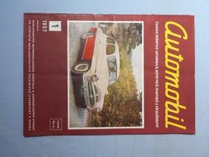 náhled knihy - Automobil časopis průmyslu motocyklů, automobilů, traktorů a příslušenství : Ročník 1., číslo 1.